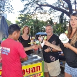 Homemade Ice Cream with Furthur Crew