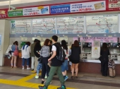 Complicated Train Map all in Japanese