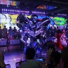 Dancing Robot at Robot Restaurant