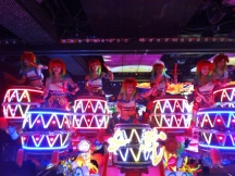Drummer Girls at Robot Restaurant
