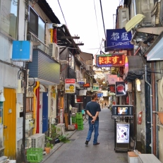 Golden Gai Before the Action Starts
