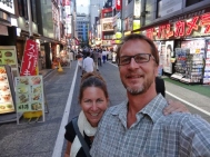 Our First Night in Tokyo