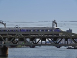 Train over the Sumida River