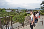 View over Honmaru Palace