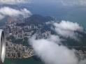 Enroute to Vancouver via Hong Kong