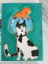 Scuba Kitty by Joy