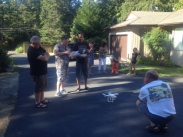 Trying Out the Drone 1