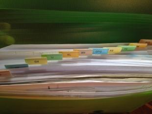 Invoices Files Alphabetically