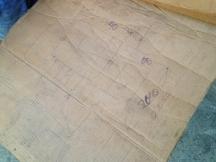 Original Drawing & Measurements