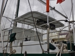 New Bimini Top Secured Just as Typhoon Nona Arrives
