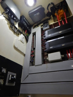 New LED Light in Electronics Cabinet