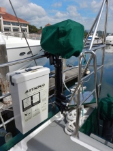 New Mercury 5HP Outboard and Sunbrella Cover