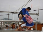 Securing the Bimini Top
