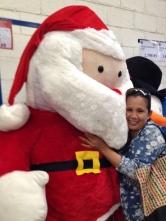 Glenda and Santa