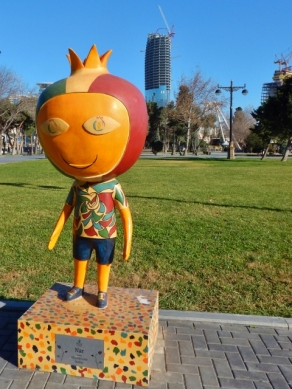 Nar (Pomegranate Head), 2015 European Games Mascot