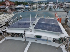 New Solar Panels & Antennas
