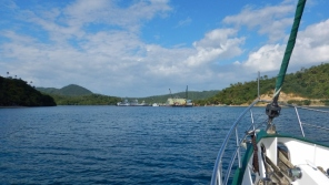 Arriving at Marinduque