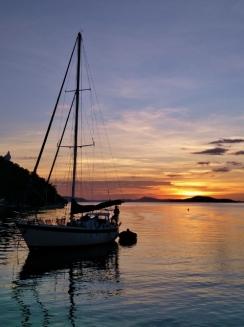 Nomada at Sunset