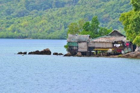 Entering Malampayan Sound