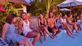 Poolside at Al Faro