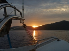 Sunrise over Marinduque