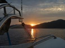 Sunrise over Marinduque