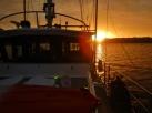 Sunset in Turung Bay