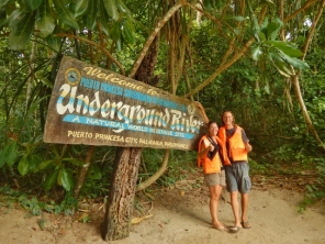 At the Underground River