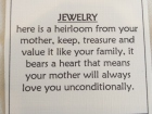 The Gift of Jewelry