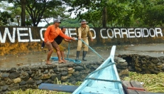 Corregidor Arrival