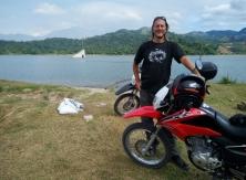 At Lake Mapanuepe
