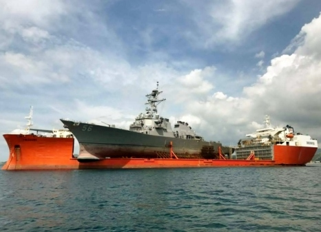 USS John S McCain (source US Navy)