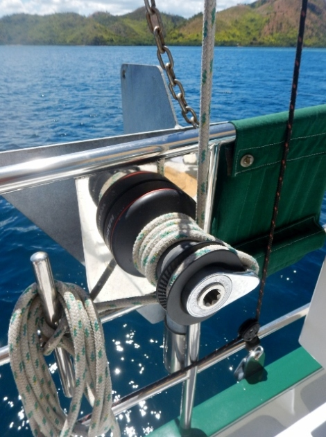 Main Sail Winch
