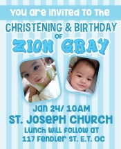 Zion's First Birthday 1