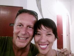 Chris and Sharon at Al Faro