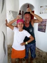 Chris with Roma at Al Faro