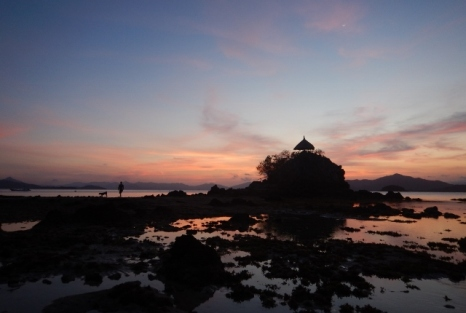 Flower Island Sunset