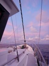 Dawn on Passage