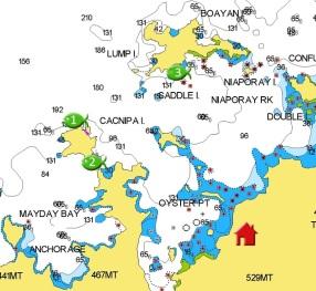 Port Barton Dive Sites