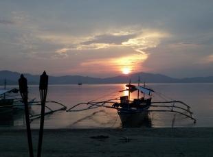 Port Barton Sunset