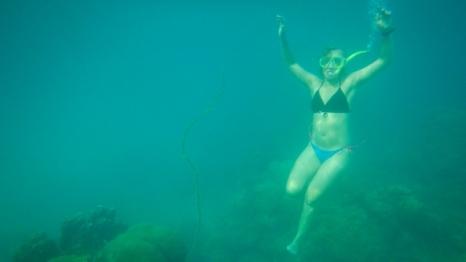 Snorkeling at White Beach