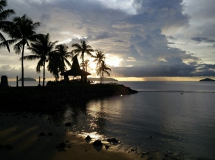 Shangri La Sunset