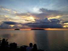 Sunset over Tunku Abdul Rahman Park