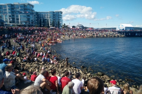 Canada Day in Sidney, Build a Boat