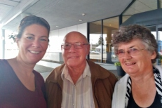 With Cousins Donny and Shirley from Saskatchewan