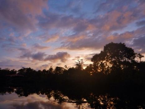 Klias River Sunset