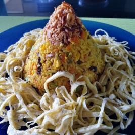fried rice volcano