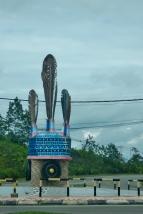 murat headgear roundabout in nabawan