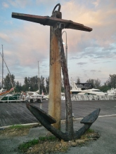 Huge Old Anchor