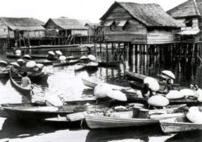 Kampong Ayer Circa 1915, Brunei Times